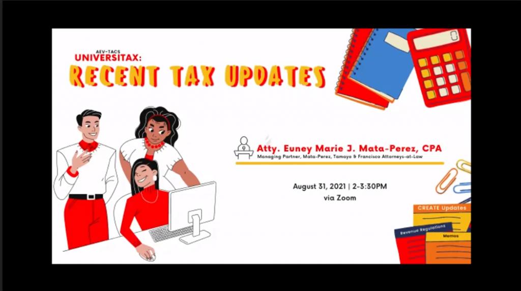 Aboitiz Tax Updates
